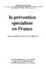Site web du CTNERHI. V. Girard, et al. La prévention spécialisée en France : forme originale d'action socio-éducative (1991) [pdf, 12 mo] - URL